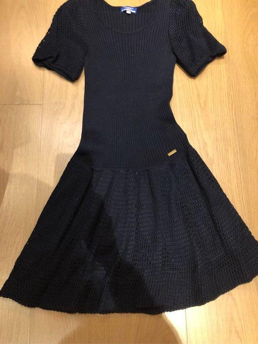 Burberry blue label 日本藍標 藍色洋裝