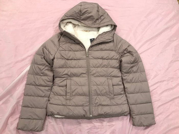 【天普小棧】HOLLISTER HCO Hobson Puffer Jacket雪帕內裡超保暖防風外套連帽外套M號