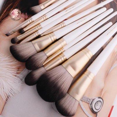 花漾柚嶼系列12支化妝刷套裝初學者散粉刷眼影刷無包肥曈B站微博CXZJ