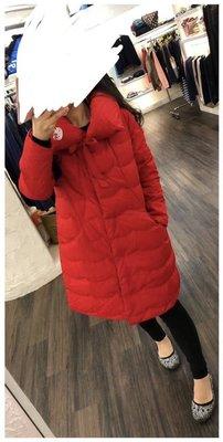 全新 a la sha +a紅色羽絨外套 s號 可加499購Scottish house口罩