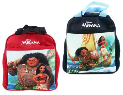 【卡漫迷】 海洋奇緣 單層 便當袋 二款選一 ㊣版 Moana 手提袋 毛伊 嘿嘿 噗噗 拉鍊式 餐袋 莫娜 開放式口袋