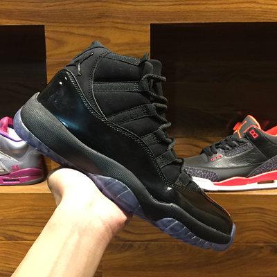 Air Jordan 11 Retro High Cap and Gown 黑伽馬藍 籃球鞋 378037 005