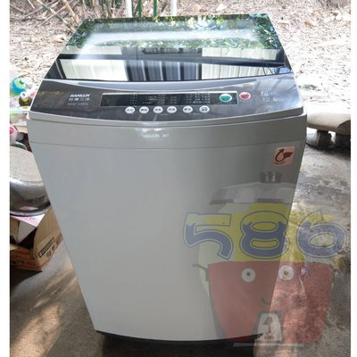 免運費!!房東最愛款《台南586家電館》台灣三洋SANLUX 12.5公斤洗衣機【新款ASW-125MA】