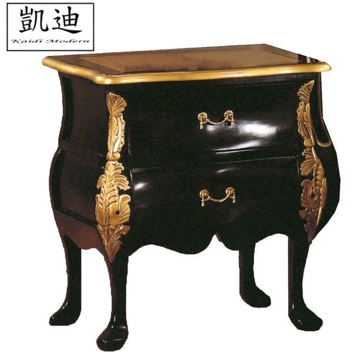 【凱迪家具】M3-001-2 帝國法式床頭櫃/桃園以北市區滿五千元免運費/可刷卡
