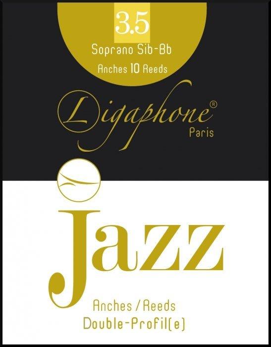 §唐川音樂§【Ligaphone Jazz Double-Profile Sop. Sax Reed 高音竹片10片裝】