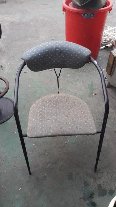 樂居二手家具 全新中古傢俱賣場 F0515AJJE 造型鐵腳單人椅*洽談椅 餐椅 電腦椅 書桌椅 二手家具買賣/