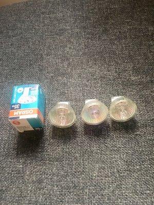 4個 原$135「OSRAM osram」halogen deco cover small spot light bulb 小射燈 燈膽