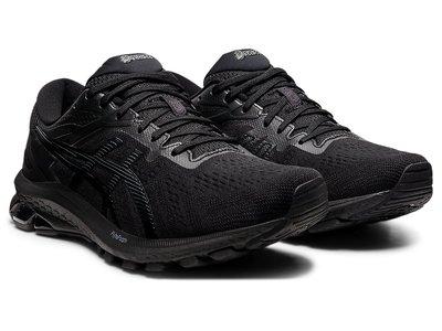 [狗爹的家] ASICS GT-1000 10 4E 黑 全黑 寬楦 男慢跑鞋 現貨 免運