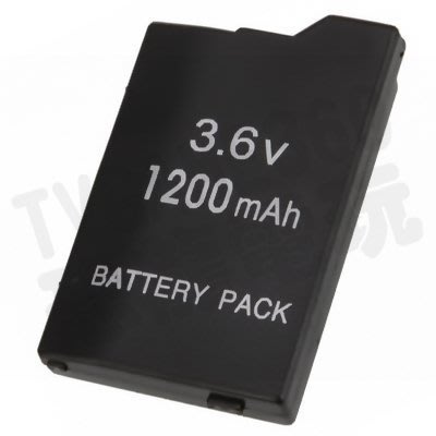 SONY PSP SLIM 2000 2007 3000 3007 副廠電池 1200mAh(全新裸裝)【台中恐龍電玩】