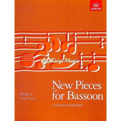 Kaiyi Music ♫Kaiyi Music♫New pieces for bassoon book II grades 5&6