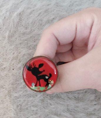 *cittaconcept日本代購*百貨專櫃La citta法國雷射塗鴉戒指/隋棠用品牌