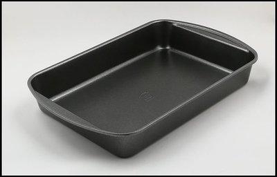 大號不沾長方型蛋糕模 正方形烤盤 燒烤盤 35.5*24*6CM ~MJ的窩~
