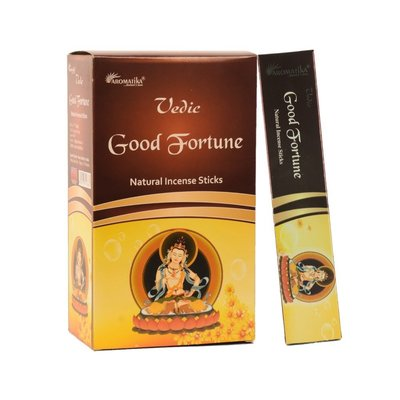 [晴天舖] 印度線香 好運香 Aromatika Vedic Good Fortune 經典款~3盒100