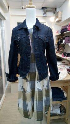櫻花屋 日本帶回 雙口袋可愛洋裝 M