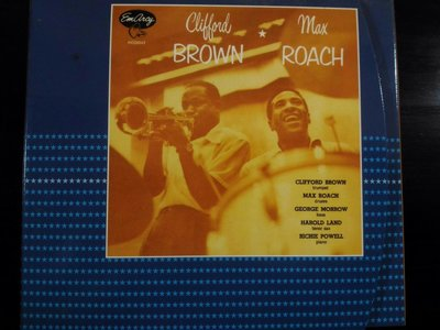 Clifford Brown And Max Roach ~ At Basin Street等四張專輯。