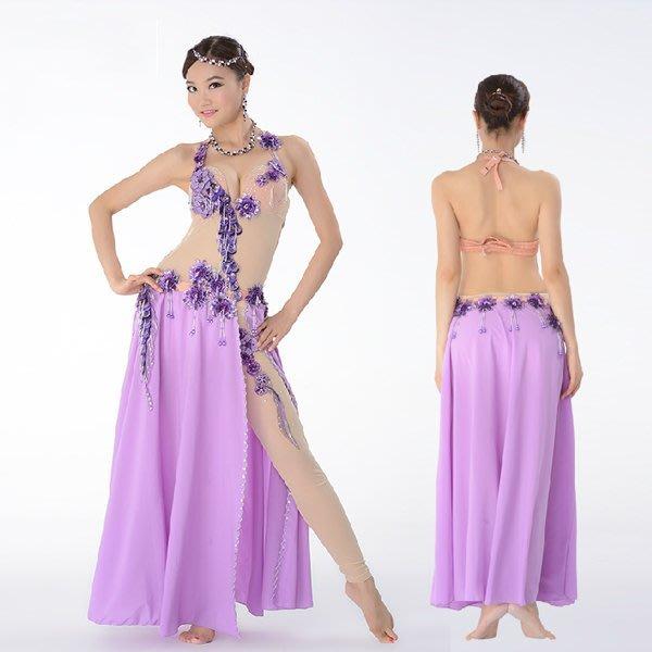 5Cgo【鴿樓】會員有優惠 42436385748 奧丁娜蕾 肚皮舞服裝演出服表演套裝舞蹈連體裙表演服 印度舞裙