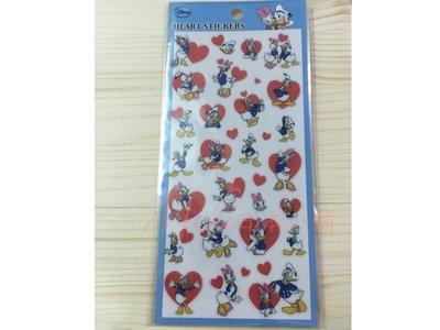 *Miki日本小舖*日本迪士尼唐老鴨&黛西造型貼紙 日本製