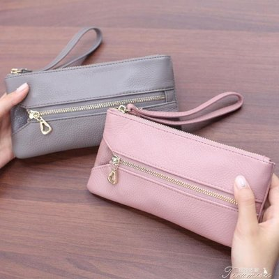 ZIHOPE 新款手拿包女 日韓長款時尚 潮流白搭手機包零錢包小包包ZI812