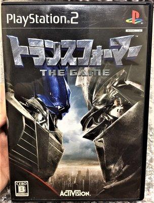 幸運小兔 PS2遊戲 PS2 變形金剛 THE GAME 稀少品、盒書齊全 The Transformers 日版 C4