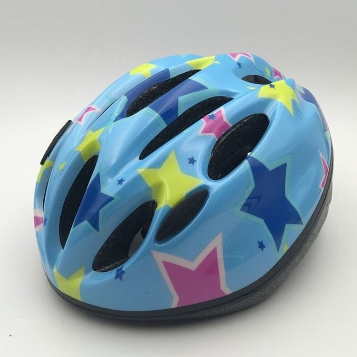 兒童安全頭盔護具輪滑女自行車滑輪溜冰鞋滑板車單車滑冰帽子男孩