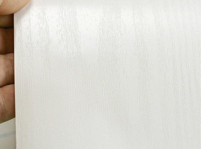 小妮子的家@韓國進口廚房浴室防HW11仿真白色木紋自粘瓷磚貼/牆貼/玻璃家具貼~kiss