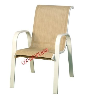 [自然傢俱坊]-樂活-(透氣)鋁合金(中背)紗網椅/透氣涼椅- SH-8A10A04 (規格57*80*H92cm)