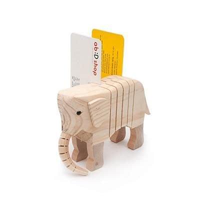 韓國文具【Cube生活雜貨】(預+現)動物立體造型名片夾/名片座 隨機岀貨(名片盒.辦公室收納.文具)