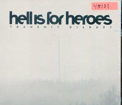 *還有唱片行* HELL IS FOR HEROES / TRANSMIT DISRUPT 全新 Y5131