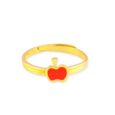 【JHT 金宏總珠寶/GIA鑽石】0.71錢 蘋果黃金戒指 (請詳閱商品描述)