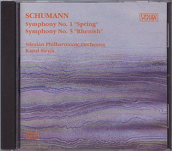 【塵封音樂盒】舒曼 Schumann: 第一號 & 第三號交響曲 Symphonies Nos. 1 & 3