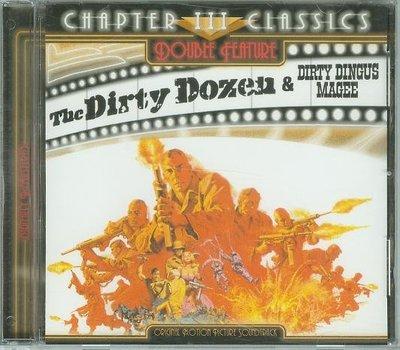 """""""決死突擊隊(Dirty Dozen/ Dirty Dingus Magee)""""- Frank De Vol,美版"""