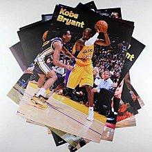 【預購】-NBA全明星 籃球球星組合科比kobe《海報》 42公分*29公分(一套8張) 房間裝飾生日禮物hb0172