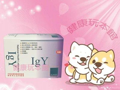 【買6送1】【滿3盒起享超商免運】愛衛康 免疫蛋黃體膠囊 IGY 60顆/盒 (新到貨.紫色包裝)