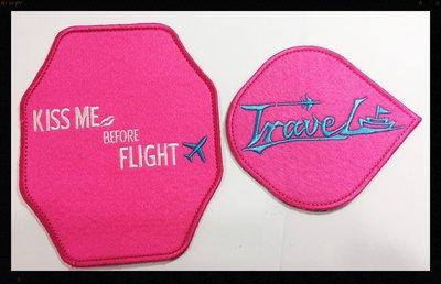 ※kiss me ※桃紅色ikitecover提把套行李箱配件旅行袋把手套提把套/握把套(1組=4個 )