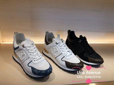 Una Avenue 巴黎精品代購*LV RUN AWAY 運動鞋