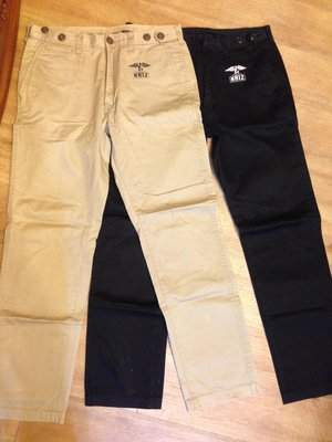 Neighborhood x Izzue NHIZ khakis 休閒褲 黑色 卡其色 sz:M