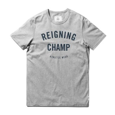 GYM LOGO T-SHIRT RC1056 灰【GT Company】【Reigning Champ】