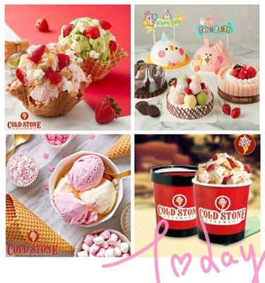 【COLD STONE酷聖石】系列新登場~中杯經典冰淇淋含原味脆餅
