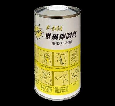【HS生活館】金絲猴P-506 壁癌抑制劑 滲透型水性壁癌防治劑 壁癌DIY 一公升
