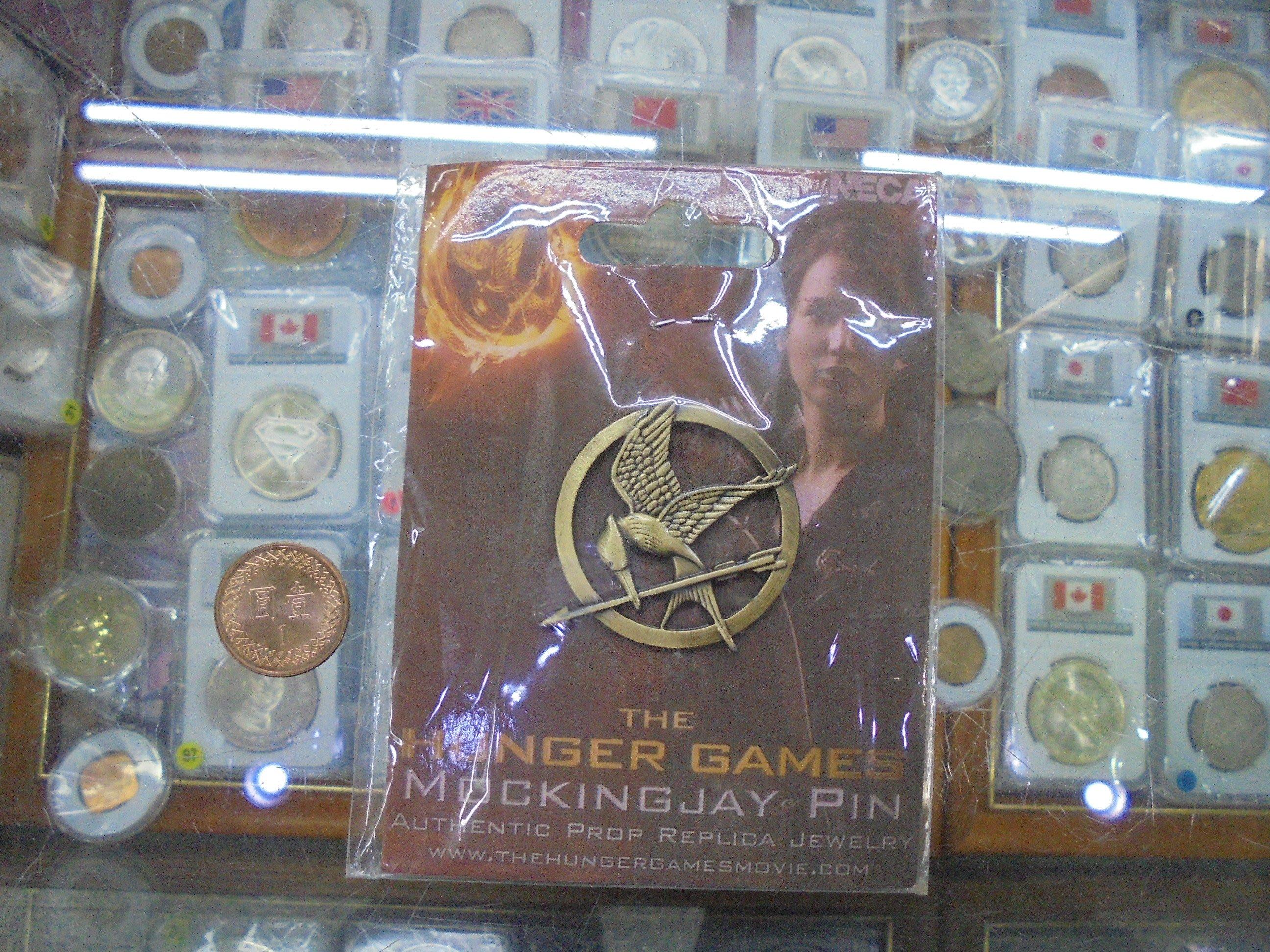 ☆豐臣館☆饑餓遊戲THE NEC HUNGR GAMES紀念章1個胸章~YA.46