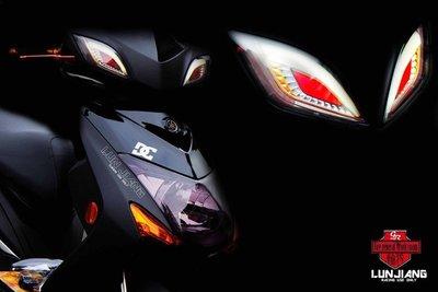 【 輪將工坊 】三代新勁戰專用 宙司狂派 鋼彈方向燈 燈眉 / 眼睛 / 方向燈 三方恆亮 另有 導光尾燈
