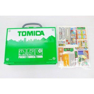 Tomica  Pocket Tomica Town 扭蛋車 手提箱 場景 軌道全新 Takara Tomy 模型車 玩具車(03