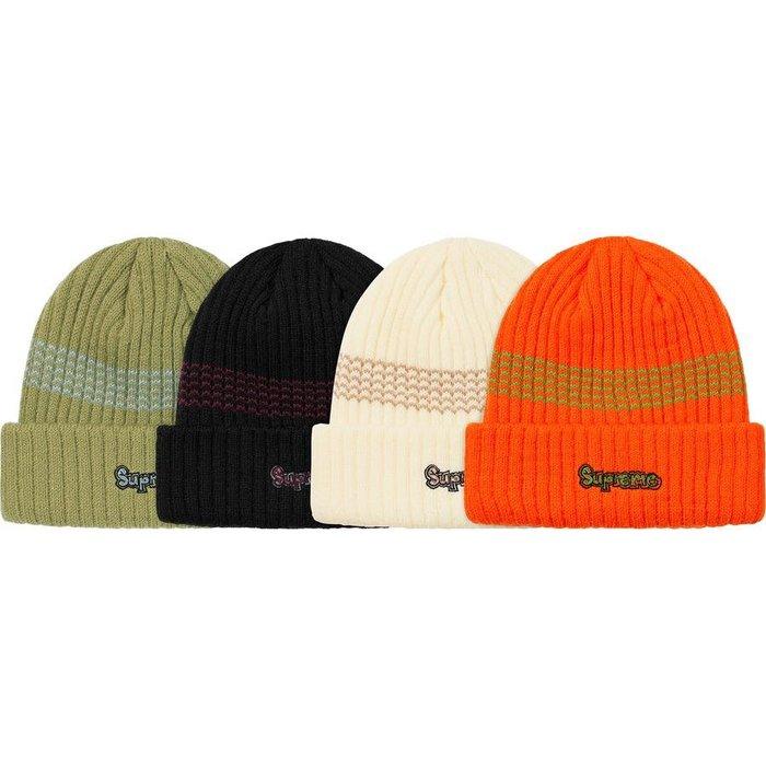 【美國鞋校】預購 Supreme FW19  Gonz Logo Beanie 毛帽