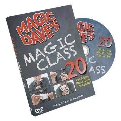 【意凡魔術】Magic Dave Magic Class by David Williamson魔術大衛的20堂生活魔術課