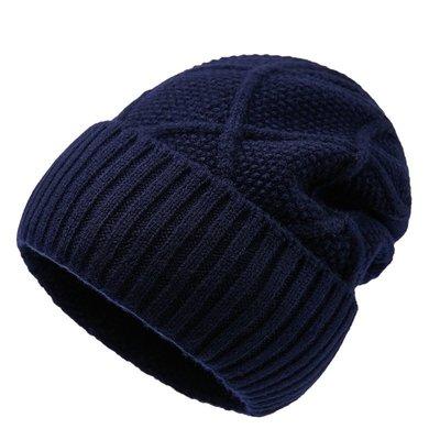 毛帽 羊毛針織帽-純色毛線保暖舒適男帽子4色73wj16[獨家進口][米蘭精品]