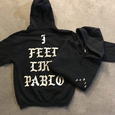 ☆LimeLight☆ PABLO I Feel Like Pablo Hoodie 帽TEE 黑色