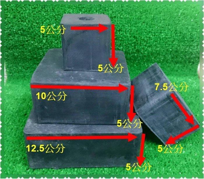TC量販店I 2英寸X15公分X15公分 方型 橡膠塊 橡膠墊 橡膠板 馬達避震墊 防滑 防撞 避震器 緩衝墊