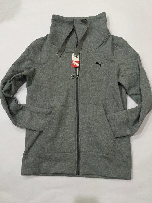 全新未穿 PUMA 灰色內刷毛運動外套