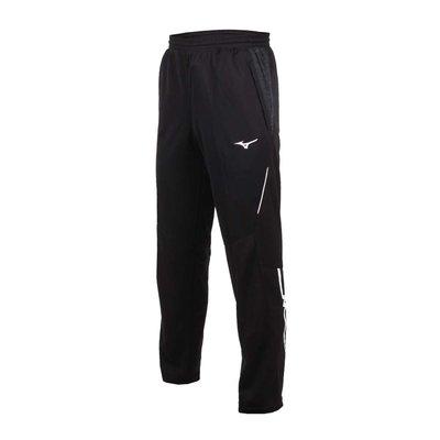【鞋印良品】MIZUNO 美津濃 男針織運動長褲 32TD853390 慢跑 路跑 健身 訓練 休閒 黑灰白
