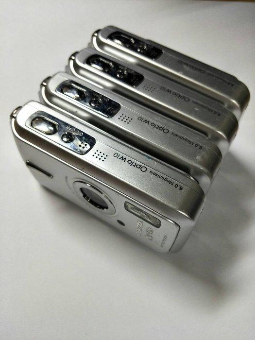 ☆手機寶藏點☆ PENTAX W10 數位相機 銀色 附電池 萬用充 Che c2